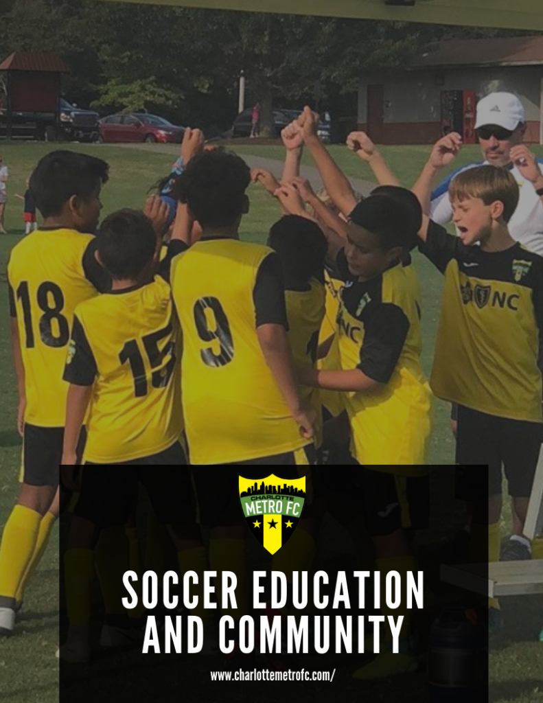 Charlotte Metro Cover Page: Soccer Education and Community